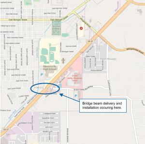 S.R. 37 Martinsville map